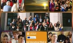 Participation in 2nd International Week at Liepaja University