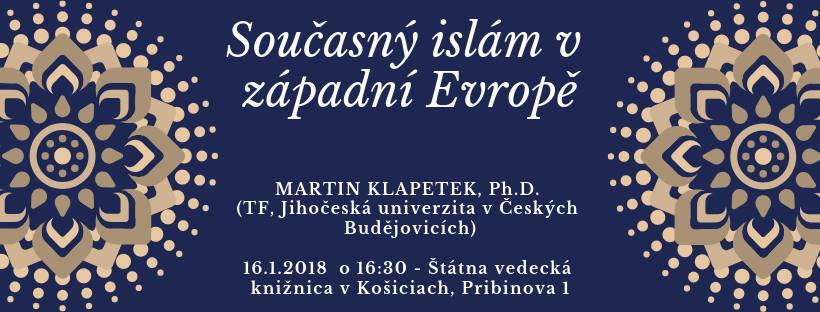 Současný islám v západní Evropě