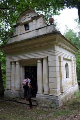 07 - Exteriér kaple na Dubíku