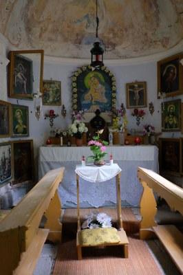 08 - Interiér kaple na Dubíku