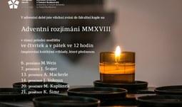 Adventní rozjímání MMXVIII