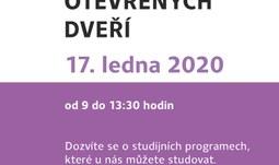 Den otevřených dveří na TF 2020