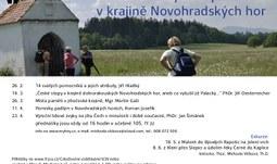 Křesťanské symboly v krajině  Novohradských hor - LS